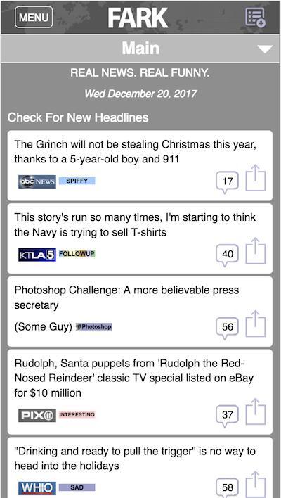 BareFark mobile screenshot