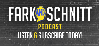 Fark and Schnitt podcast logo