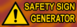 (Safety Sign Generator)